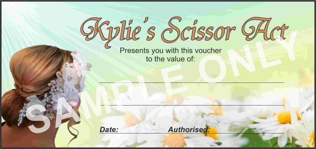 Kylie's Gift Certificate